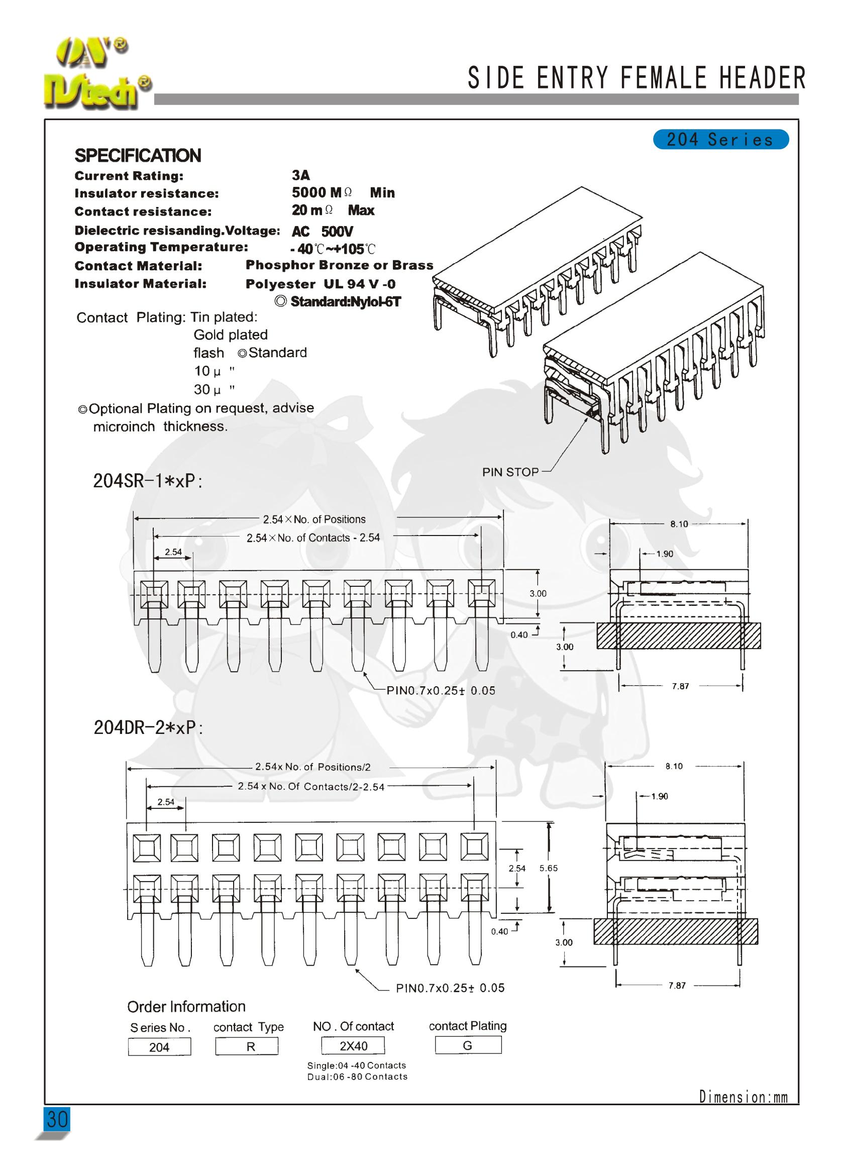 NS204-2.54系例